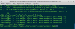 build_armssh